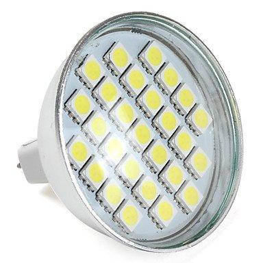 Mr16 27-5050 Smd 3.5W 300Lm 6000-6500K Natural White Led Lamp Bulb (12V)