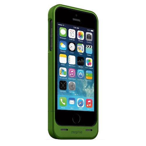 日本正規代理店品mophie juice pack helium for iPhone 5s/5 グリーンメタリック MOP-PH-000055