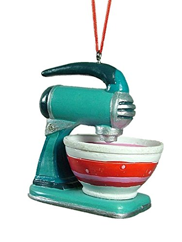 Vintage Style Stand Mixer With Bowl Christmas Tree Ornament
