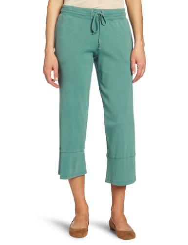 Mod-O-Doc Women's Medium Rib Capri Pant with Back Slit