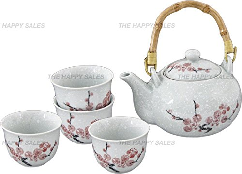 Find Cheap Happy Sales Pink Cherry Blossom Porcelain Tea Set