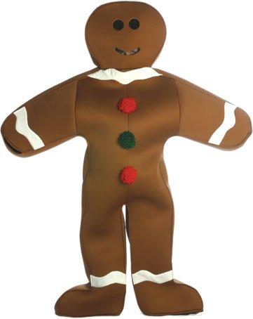 Adult Gingerbread Man Halloween Costume