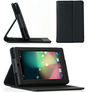 BLUREX Magyc folio Case With Multi-Angle Stand for Google Nexus 7 inch Tablet (with Automatic Sleep/Wake Function) [Newest Version]