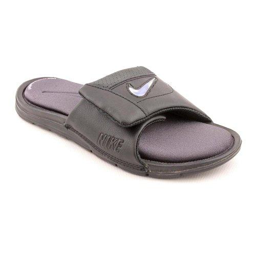 Nike Comfort Custom Slide 2 (GS) Open Toe Slides Sandals Shoes Black Youth Boys