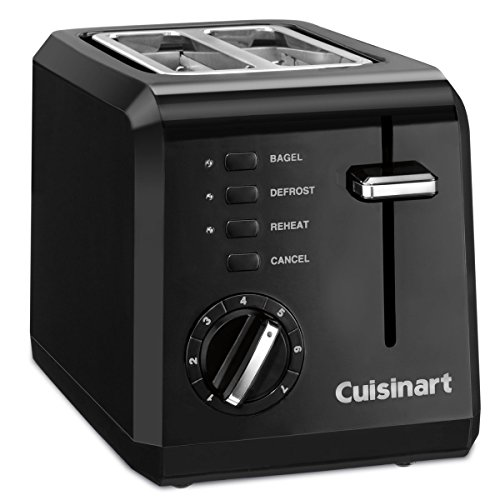 Great Deal! Cuisinart CPT-122 Compact 2-Slice Toaster - Black (Certified Refurbished)