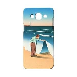 BLUEDIO Designer 3D Printed Back case cover for Samsung Galaxy E5 - G4074