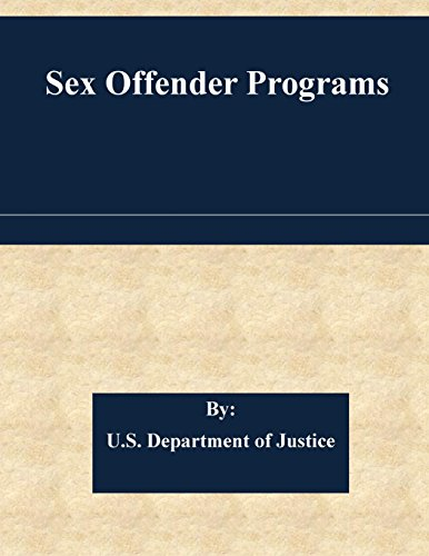 Sex Offender Programs
