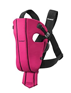 BABYBJORN Baby Carrier Original - Pink, Spirit