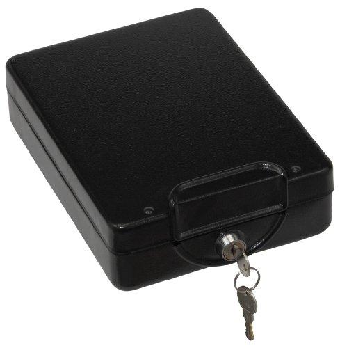 Honeywell 6114 Steel Car Security Safe, 0.06 Cubic Feet