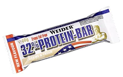 Weider - 32% Protein Bar - Cookies & Cream (24 Stuck 60g Riegel im Karton)