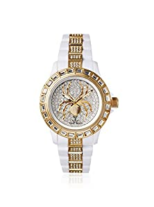 buy Toy Watch Crystal-Set Dial Polycarbonate And Steel Bracelet Unisex Watch K23Wh