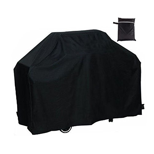 Easehold BBQ Gas Grill Covers Outdoor Waterproof All Weather Shelter 75x28x46 Inch Black (Bbq Grill Protector compare prices)