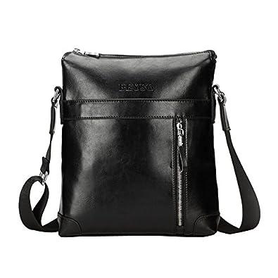 Zicac Mens Leather Shoulder Bag Handbags Briefcase For The Office Messenger Bag 13