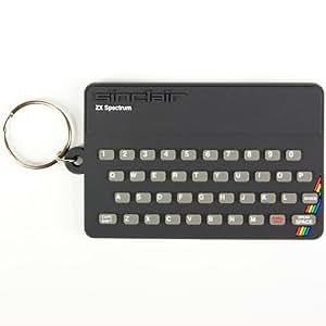 Spectrum Keyring. Sinclair ZX Spectrum PVC Keyring