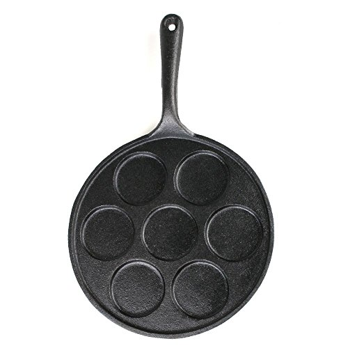 Big bBQ poêle en fonte spécial pancakes Rond