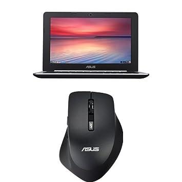 """Pack Asus Chromebook C200MA-KX017 PC Portable 11,6"""" Noir (Intel Celeron, 2 Go de RAM, SSD 16 Go, Chrome OS) + Souris Asus"""