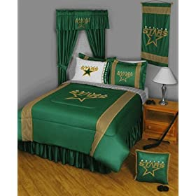 NHL Dallas Stars Queen SL Comforter