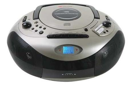 Califone 1886 Spirit Sd Multimedia Cd Player Cassette Recorder Am/Fm Radio Boombox