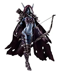 7 Weapons World of Warcraft Sylvanas Windrunner PVC Action Figure Garage Kits