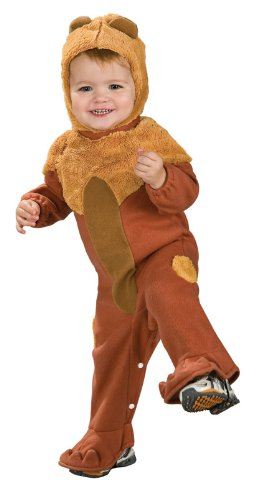 Wizard Of Oz Cowardly Lion Romper Costume, 1 to 6 Months