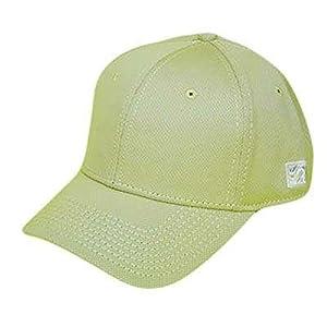 BLANK PLAIN LIGHT GOLD TAN XSMALL FLEX FIT GAME HAT CAP