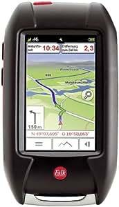 Falk LUX 32 DEU, Outdoor-GPS, Premium Outdoor-Karte zum Radfahren, Mountainbiken und Wandern, Geocaching, 3 Zoll Display, ipx7 (wasserdicht)