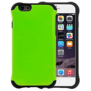 Armor Series Silicone + Plastic Combination Case for iPhone 6(Green)