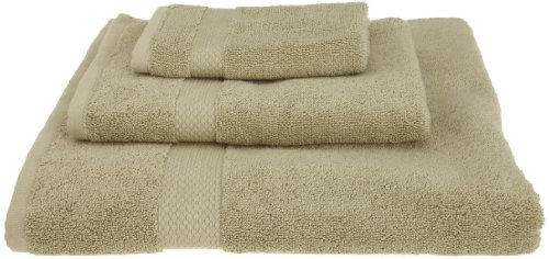 Pure Fiber Organic Cotton Bath Towel Set, Sage Green