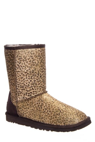 UGG Australia Classic Short Calf Hair Flat Winter Boot