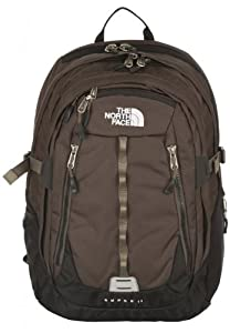 The North Face Surge II Daypack - Coffee Brown Ripstop, One Size (Old Version)