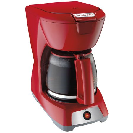 PS 12-Cup Coffeemaker Red