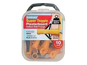 Plasplug Stc310 Super Toggle Cavity Anchors (10)