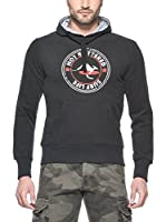 Hot Buttered Sudadera con Capucha Surf Life (Negro)