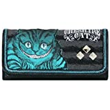 Loungefly Alice in Wonderland Movie Cheshire Cat Deluxe Checkbook Wallet