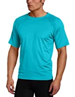 Kanu Surf Men's Solid Rashguard UPF 50+ Swim Tee