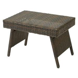Best Selling Foldable Outdoor Wicker Table by Heavy Metal Inc.