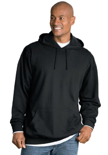 KingSize Mens Big /& Tall Fleece Crewneck Sweatshirt