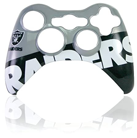 Xbox 360 Official NFL Oakland Raiders Controller Faceplate
