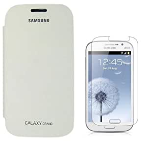 YGS Flip Cover For Samsung Galaxy Grand i9082_White