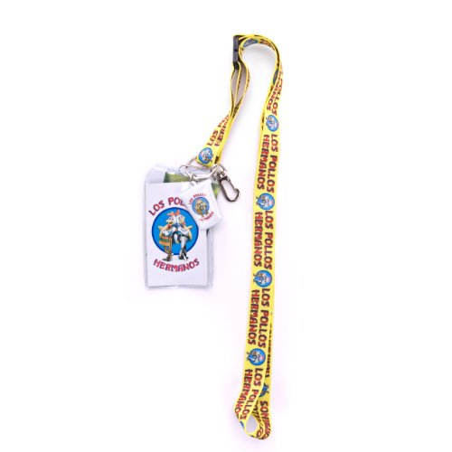 BREAKING BAD, Pollos Hermanos, Officially Licensed, Lanyard & Badge Holder