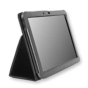 Ace(trademark) Leather Case for for Motorola Xoom FIRST VERSION ONLY 10.1 Inch Tablet (3g & 4g Wi-fi 16 Gb 32 Gb 64 Gb) at Electronic-Readers.com