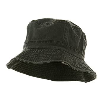 Pigment Dyed Bucket Hat-Charcoal W12S43E at Amazon Men's ...