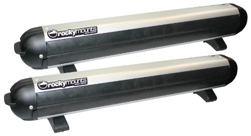 Rocky Mounts Liftop Automobile Ski Rack, Silver,