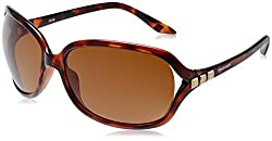 Fastrack Oversized sunglasses (Brown) (P218BR2FP)