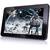 """FUSION5® 9"""" INCH FUSION5® DUAL4 ANDROID KITKAT TABLET PC (Bluetooth, QuadCore Processor (effective 10 June 2015), WiFi, 8GB, 512DDR3, Dual Camera, Supports Skype Video Chatting, YouTube, Google Play)"""