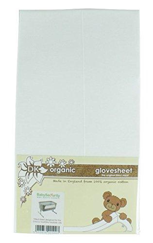 Lenzuolo con angoli in cotone organico adatto per il materasso Chicco Next 2 me- Colore bianco - da BabySecurity