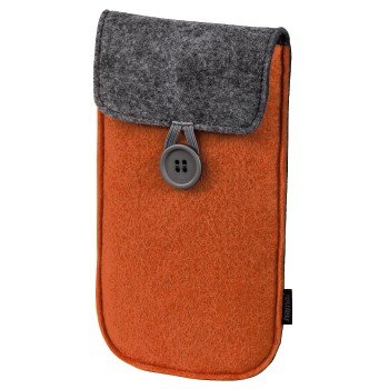 Hama 114187 Slimfit FELT CASE Orange