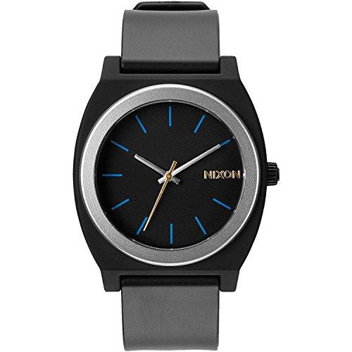 nixon-mens-a1191529-00-time-teller-p-analog-display-japanese-quartz-grey-watch