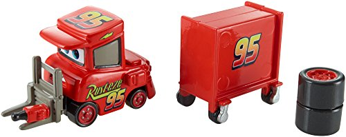 Disney/Pixar Cars, Piston Cup 2015 Series, My Name is Not Chuck with Cart Die-Cast Vehicle #17/18, 1:55 Scale - 1