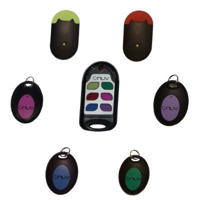 Set of Six Wireless Remote Control Key Finders